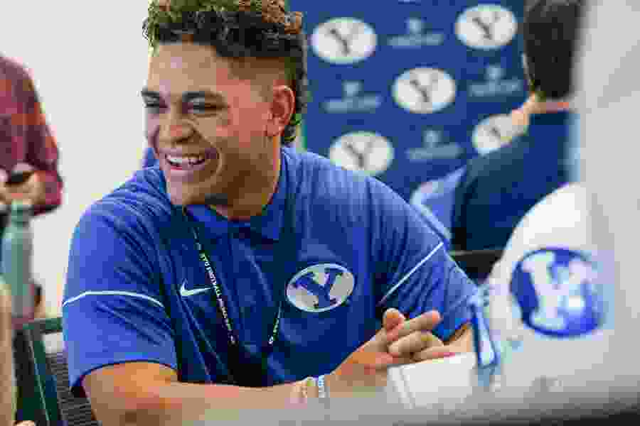 BYU's new running backs are eager to push for playing time