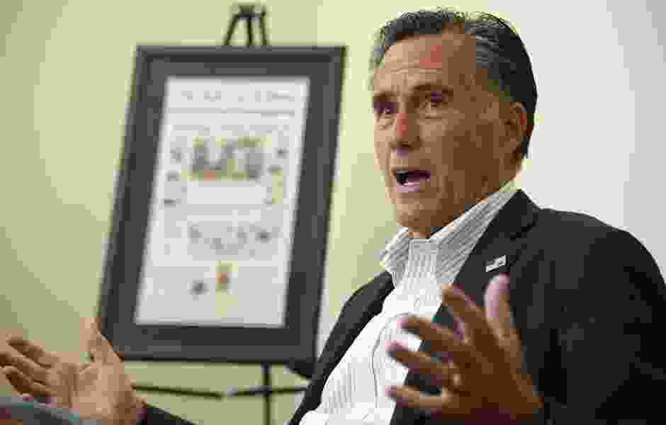 George Pyle: When Mitt Romney talks politics, I think science fiction