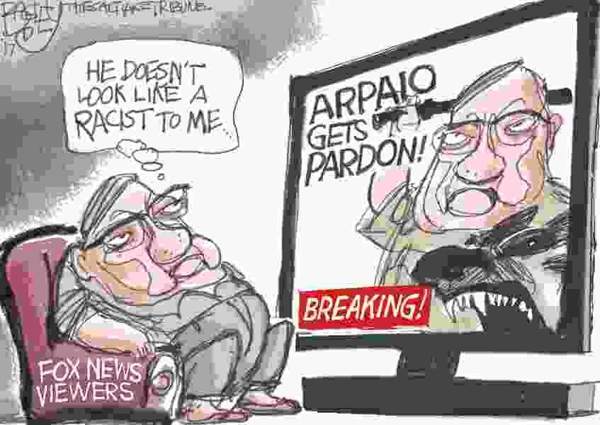 Bagley Cartoon: Arpaio Gets Pardoned