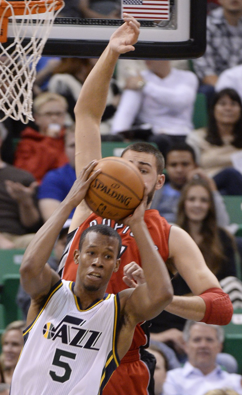 UTAH JAZZ NEED RODNEY HOOD TO STEP UP FOR INJURED ALEC BURKS THE