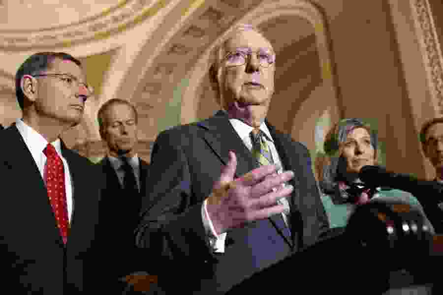 Political Cornflakes: Mitch McConnell says if the impeachment trial were today, the Senate would acquit