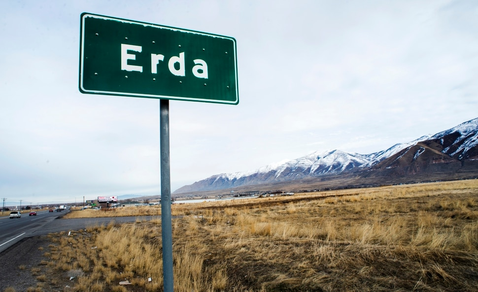 (Rick Egan | The Salt Lake Tribune) The Romney Group, a private real estate investment company, is pushing for the creation of a 12,000-acre satellite port in Tooele County, which includes Erda. Tuesday, Jan. 28, 2020.