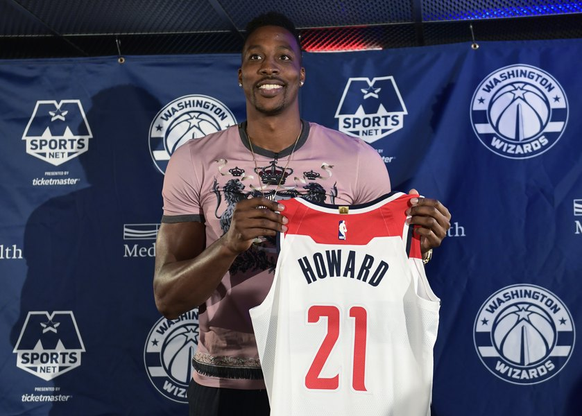 0d11079e9f2 Dwight Howard aims for career-finishing run with Wizards - The Salt ...