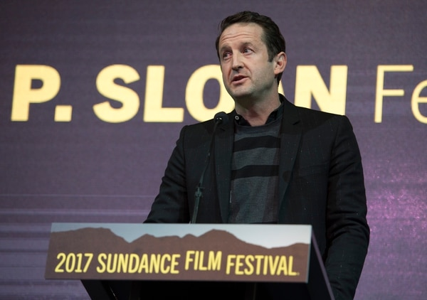 Rick Egan   The Salt Lake Tribune Sundance program director Trevor Groth makes address the audience, at the 2017 Sundance Film FestivalÕs Awards Ceremony, Saturday, January 28, 2017.