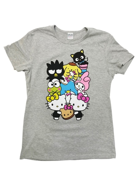 This t-shirt is one of several items available at the Hello Kitty pop-up cafe in Murray on April 14.