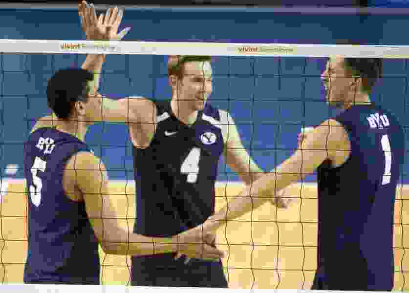 BYU earns No. 2 seed in NCAA Men's Volleyball Tournament, could see home-standing UCLA again in Final Four