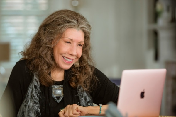 This image released by Netflix shows Lily Tomlin in