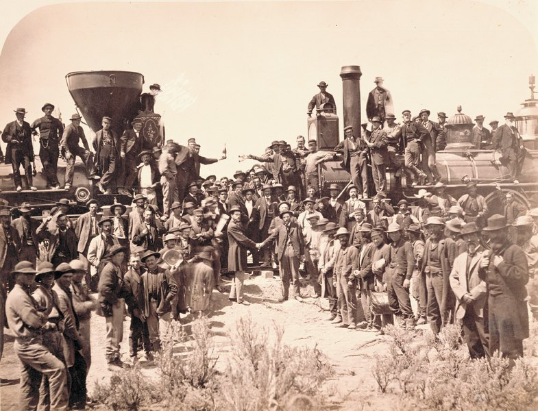 Why is obscure firm buying oil leases along historic transcontinental rail route west of Golden Spike?