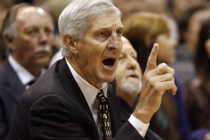 (Chris Detrick  |   Tribune file photo) Legendary Utah Jazz coach Jerry Sloan, shown here yelling to his players during a game in 2009, died May 22, 2020, at the age of 78.