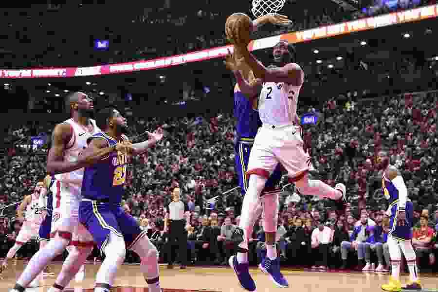 The Triple Team: Andy Larsen's analysis of Kawhi Leonard's 45 points pushing Raptors over Jazz