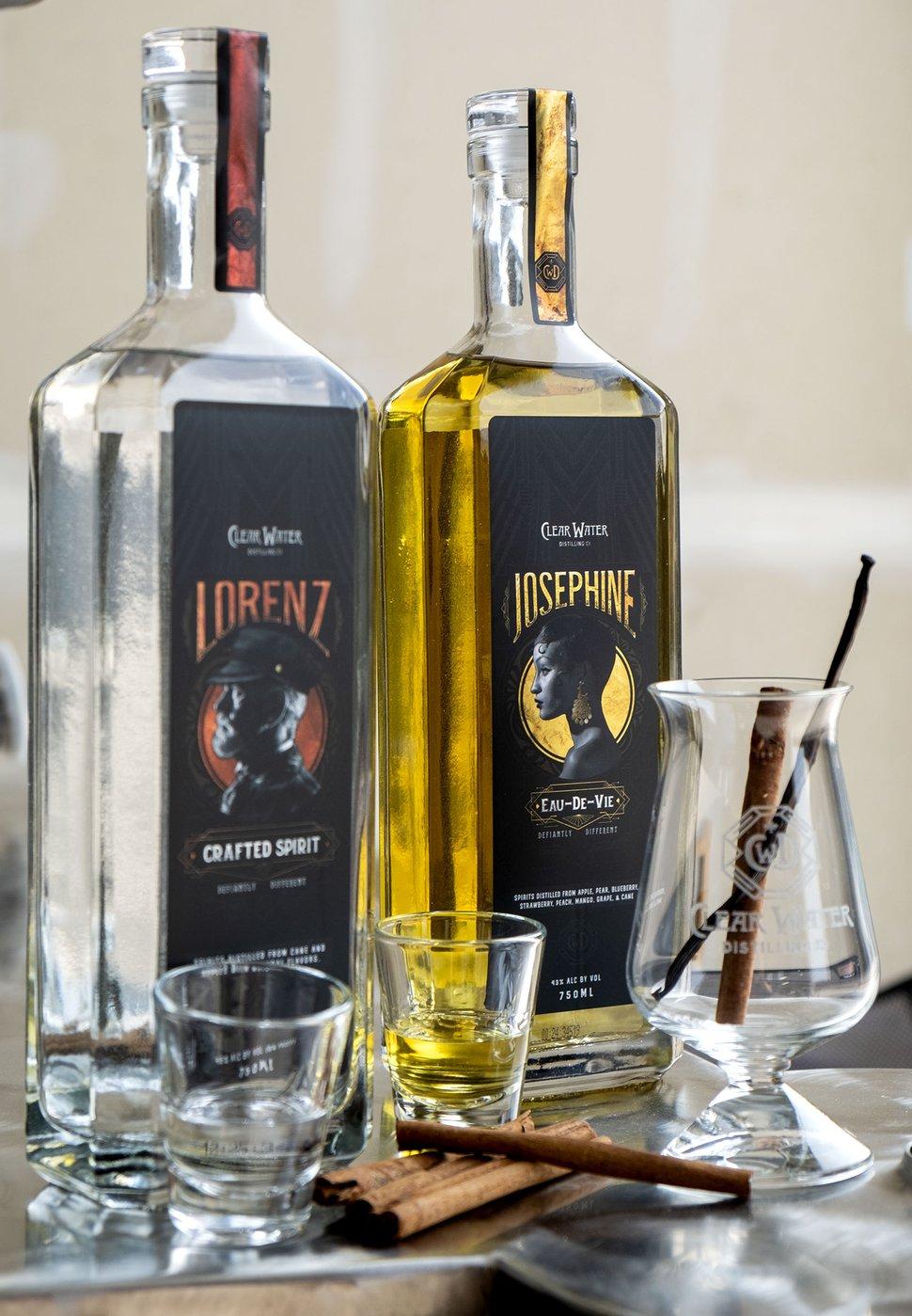 (Leah Hogsten   The Salt Lake Tribune) Clear Water Distilling Company produces Lorenz, a cinnamon rum, and Josephine, a fruit brandy.