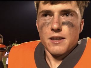 (Sammy Mora | The Tribune) Skyridge and quarterback McCae Hillstead are 4-0 on the season after beating Orem. It was the Falcons' fourth shutout of the season.