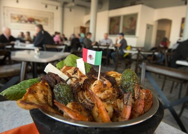 (Rick Egan | The Salt Lake Tribune) The Molcajete at Chile Tepin Mexican restaurant.