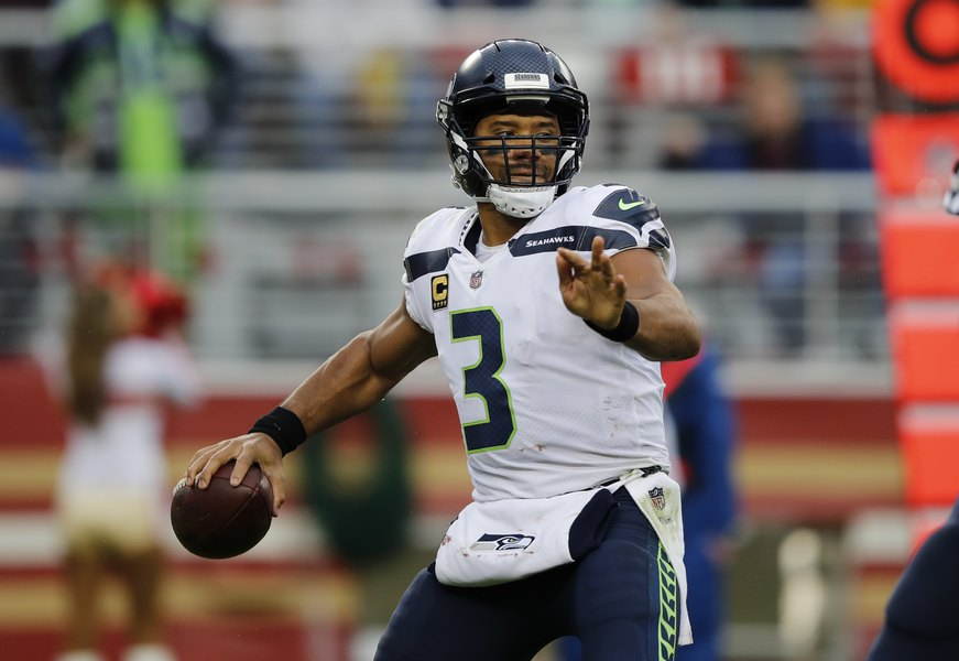 Seahawks star Russell Wilson traded ... to Yankees in baseball - The ... 8ff6ecf4f