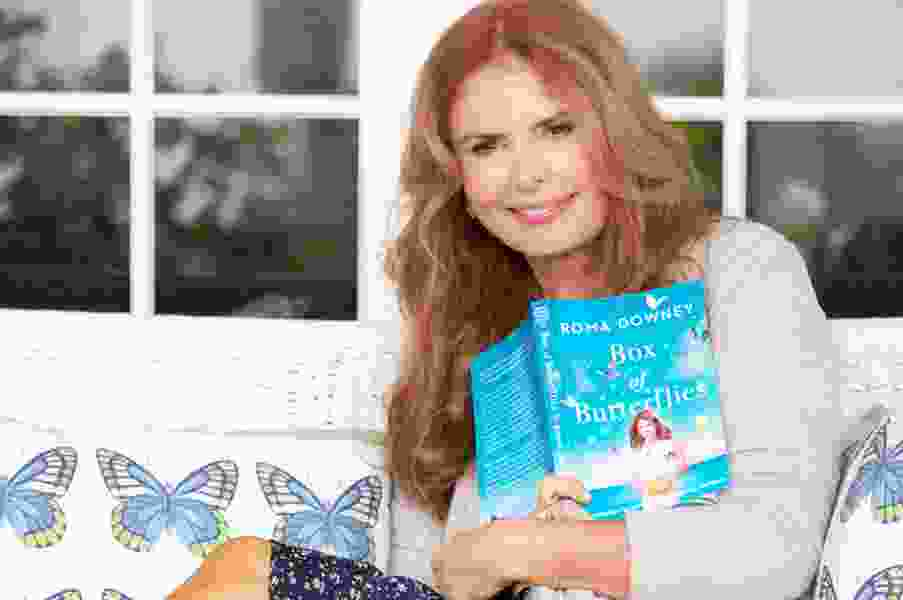 Roma Downey is bringing her new book with personal tales of faith to her 2nd home — Salt Lake City