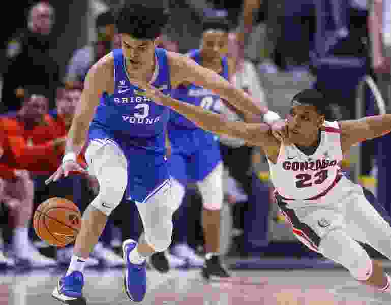 Kragthorpe: BYU basketball team is unable to stay in Gonzaga's realm for very long