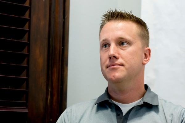 (photo courtesy Chris Federer) Brett Snelgrove of Promontory Point Resources at the companyÕs downtown Ogden office.