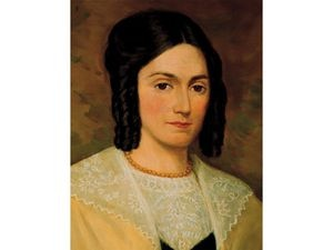 (The Church of Jesus Christ of Latter-day Saints) Emma Hale Smith, wife of church founder Joseph Smith.