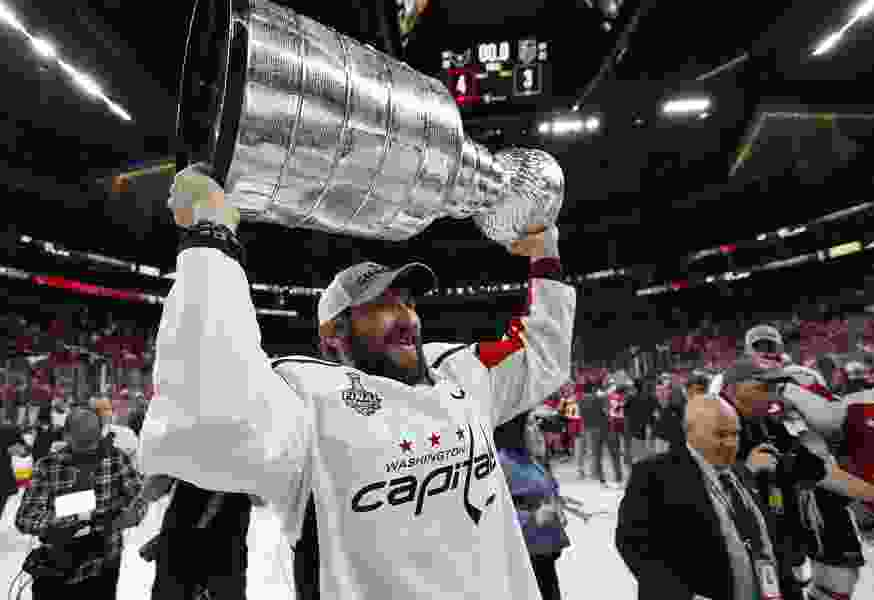 Stanley Cup winner Alex Ovechkin may just be getting started
