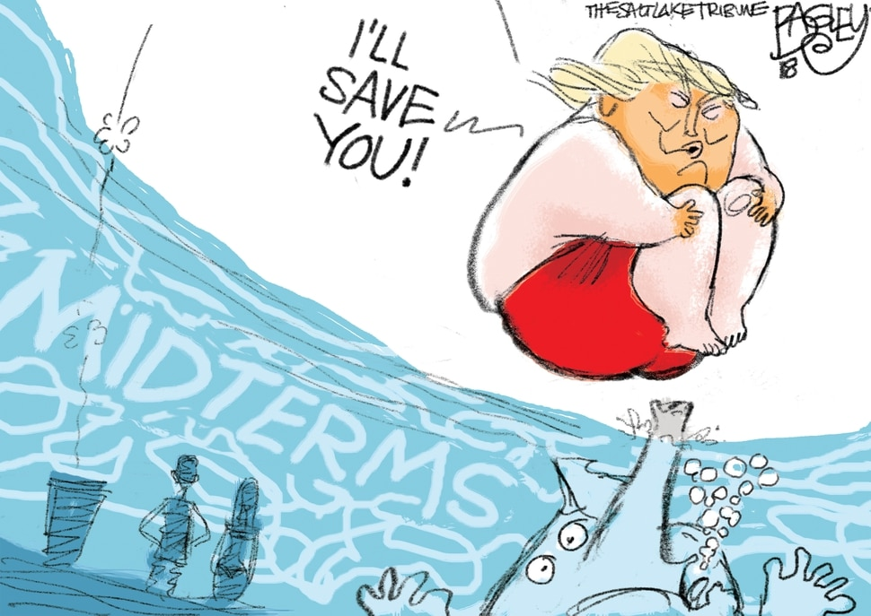 This Pat Bagley cartoon appears in The Salt Lake Tribune on Sunday, Sept. 2, 2018.