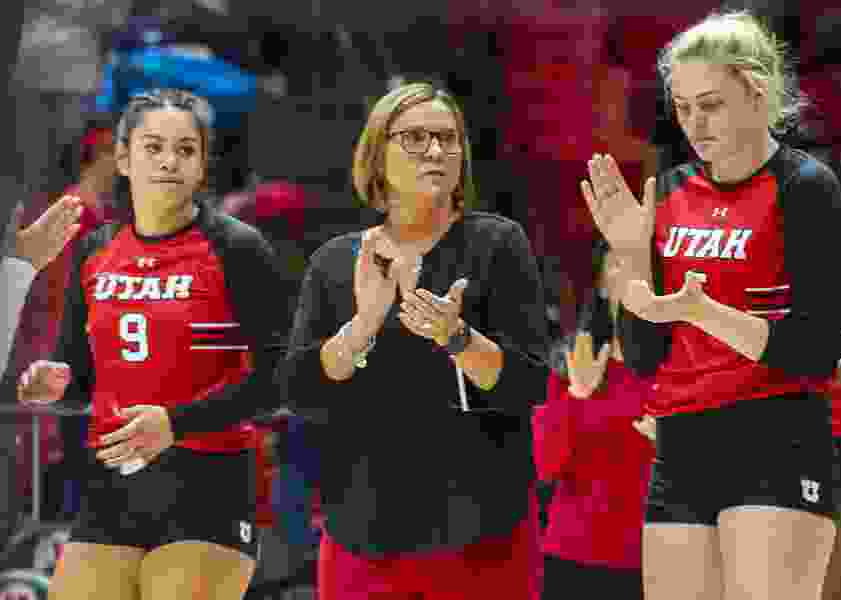 Utah volleyball team falls to Stanford in five sets in the NCAA Tournament's Sweet 16