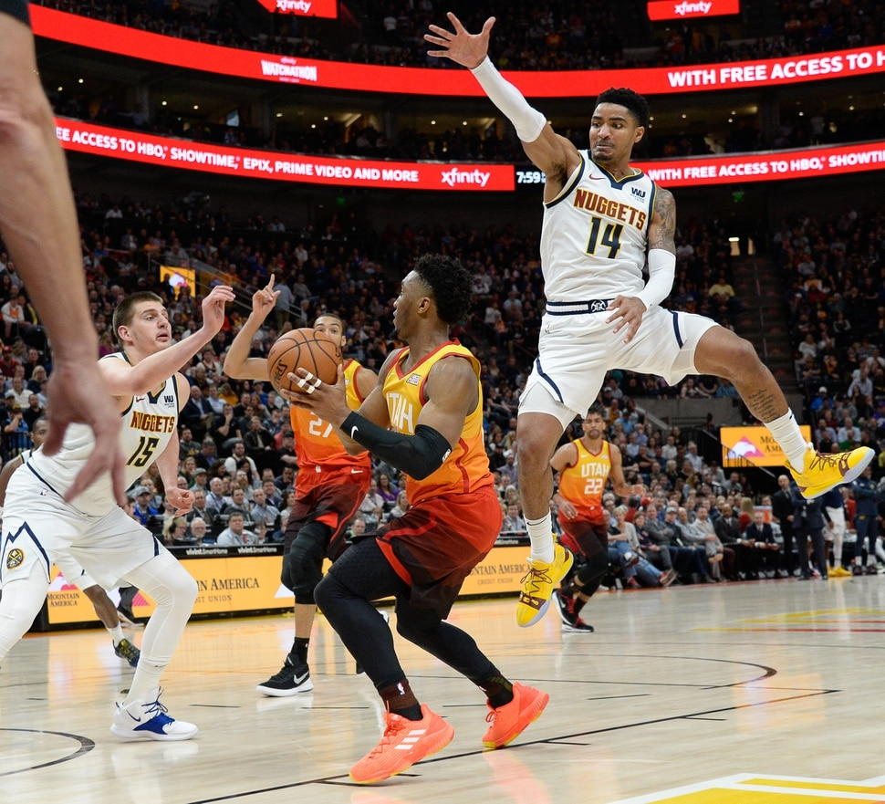 Denver News Nuggets: Donovan Mitchell Scores 46 Points As Utah Jazz Beat Denver