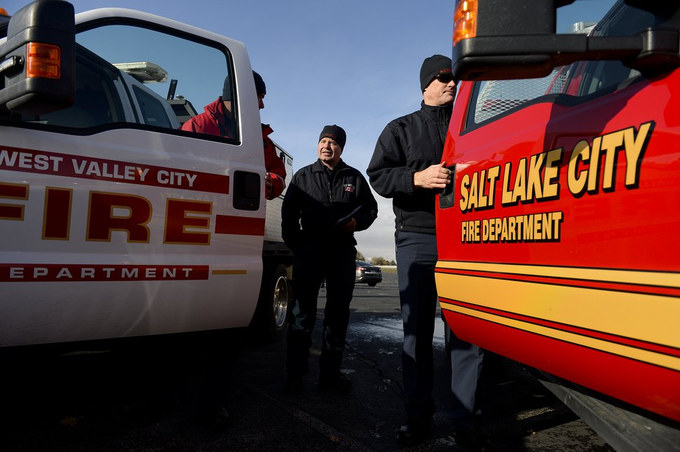 (Leah Hogsten | The Salt Lake Tribune) Firefighters from various Utah fire agencies deployed to California in 2019 to support the Golden State's firefighting efforts as wildfires ravage the state.