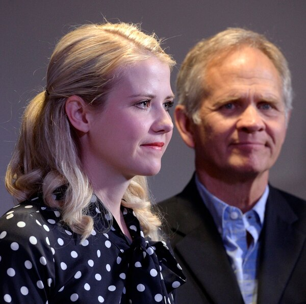 Al Hartmann | The Salt Lake Tribune Elizabeth Smart and her father, Ed Smart, attend a news conference in Sandy for Libertad Salgado, mother of Elizabeth Laguna-Salgado, a year after Laguna-Salgado's disappearance.