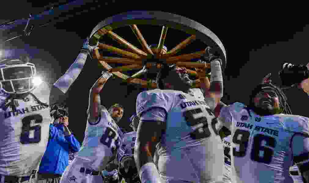 With latest rout, Utah State is rewriting history of football series against BYU