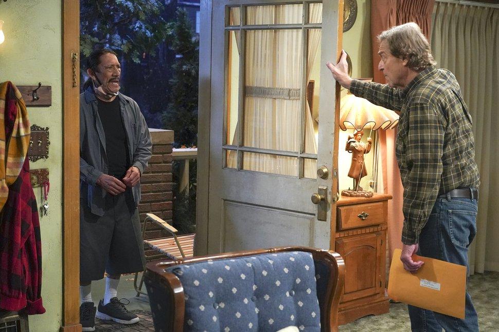 (Photo courtesy of Eric McCandless/ABC) Danny Trejo and John Goodman in the Season 3 premiere of