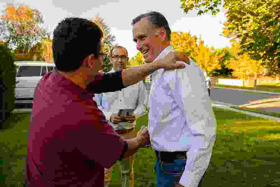 Tribune editorial: Can Mitt Romney help save the Senate? Utahns should let him try.