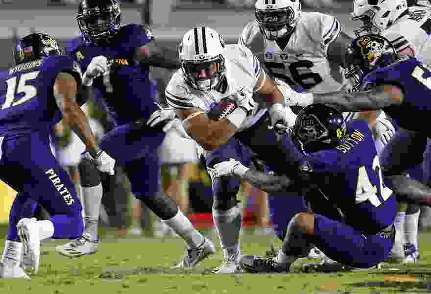 BYU books five kickoff times in first half of football season