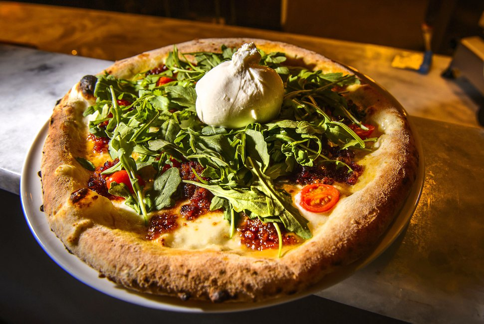(Steve Griffin | The Salt Lake Tribune) The Carmine pizza at Carmine's Italian Cuisine in Cottonwood Heights.