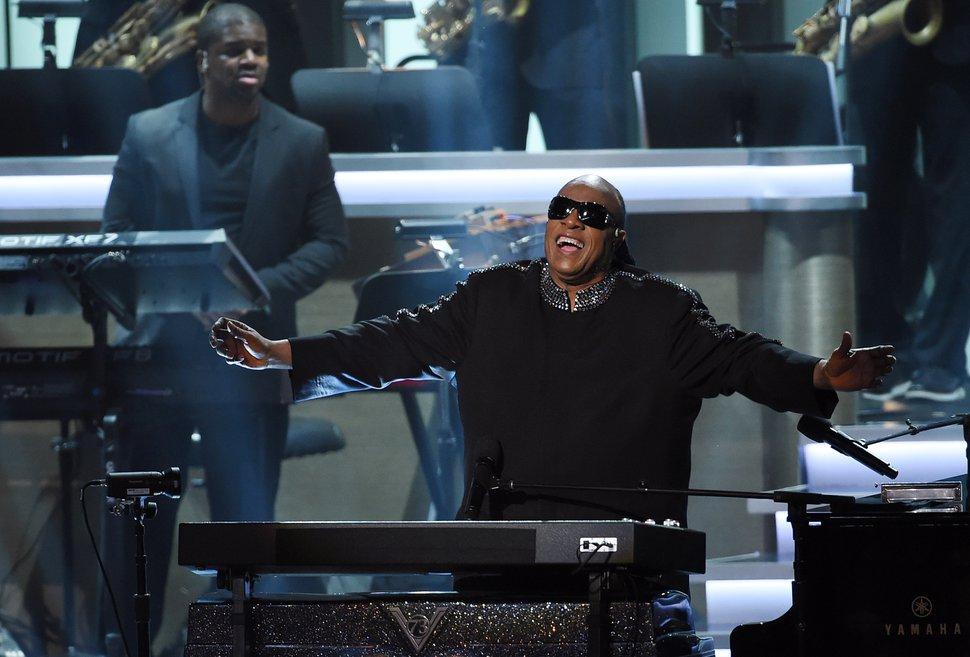 AP file photo Stevie Wonder