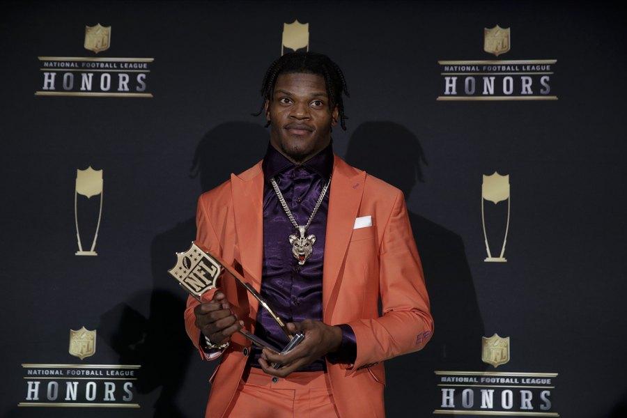 Ravens QB Lamar Jackson in unanimous NFL MVP - The Salt Lake Tribune