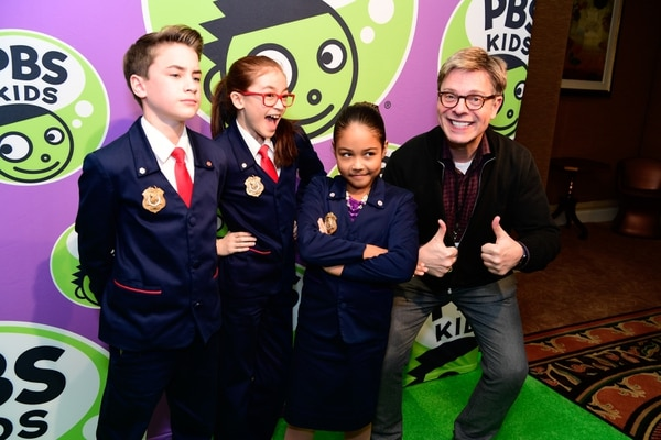 Rahoul Ghose | PBS The cast of ÒOdd SquadÓ celebrates the launch of the PBS KIDS channel.