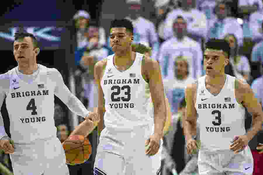 BYU men's basketball will finish at home against Gonzaga