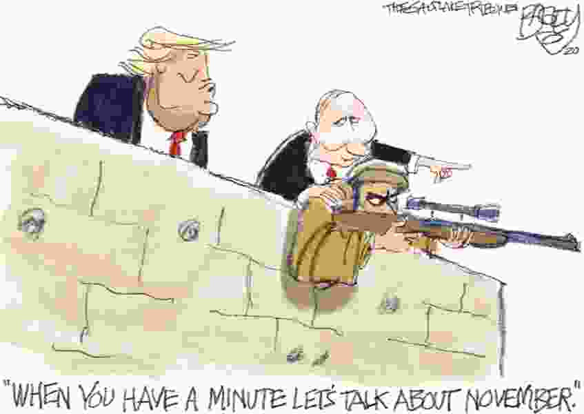 Bagley Cartoon: Palling Around With Putin