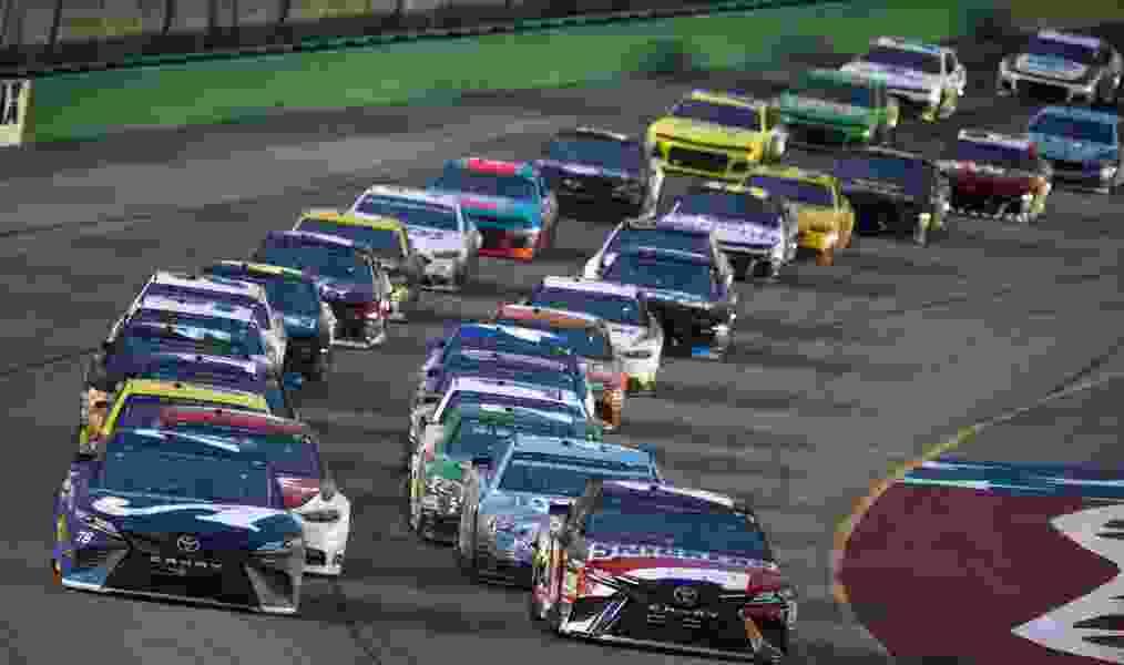 Martin Truex Jr. repeats as NASCAR Cup winner at Kentucky Speedway