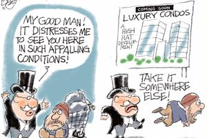 A Building Crisis | Pat Bagley