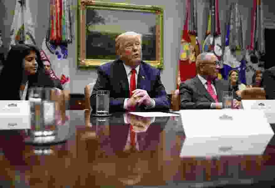 Trump says U.S. did 'fantastic job in Puerto Rico' after Maria