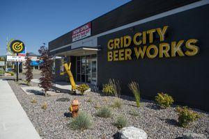 (Rick Egan     Tribune file photo)      Grid City Beer Works on 2100 South in Salt Lake City, Wednesday, July 8, 2020.