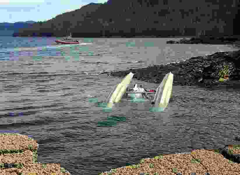Alaska floatplanes collided at 3,300 feet before crashing