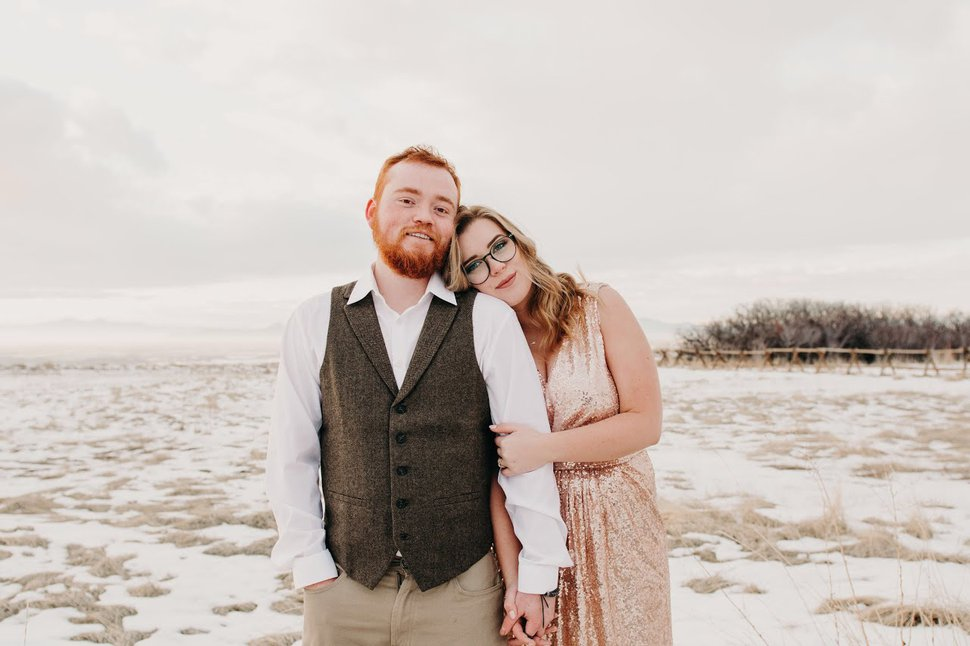(Photo courtesy of Mary Wilson with Fervent Image) Kaitlyn Gilley and her fiance, Logan Pia, were planning to get married April 10 in Bluffdale. They postponed their ceremony and reception because of coronavirus.