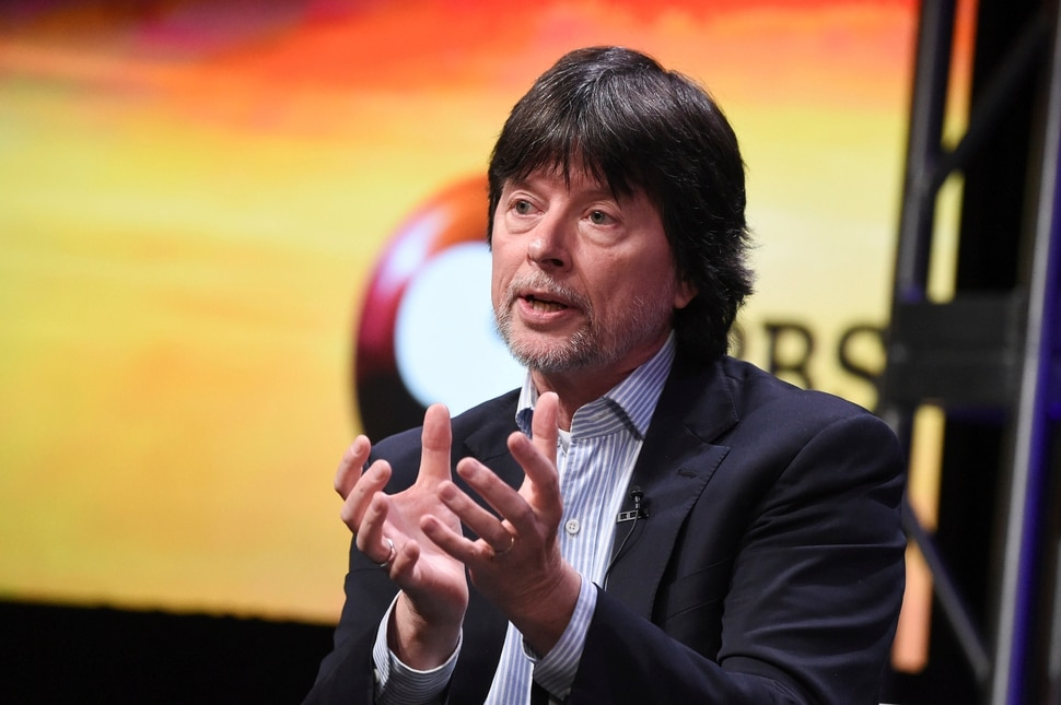 Ken Burns participates in the The Vietnam War panel during the PBS portion of the 2017 Summer TCA's at the Beverly Hilton Hotel on Sunday, July 30, 2017, in Beverly Hills, Calif. (Photo by Richard Shotwell/Invision/AP)