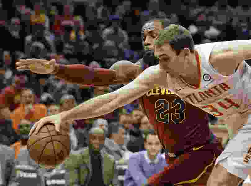 Jazz sign former Hawks forward Tyler Cavanaugh to two-way contract