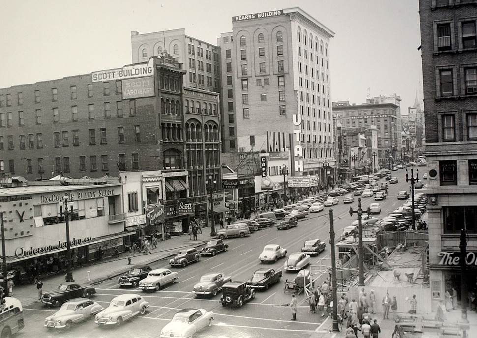 (Tribune file photo) An undated photograph of the Utah Theater in Salt Lake City.