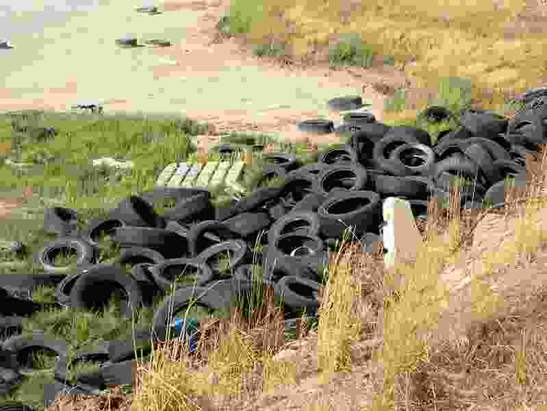 Utah's waste-tire program fuels a robust recycling industry, but audit suggests it is falling flat