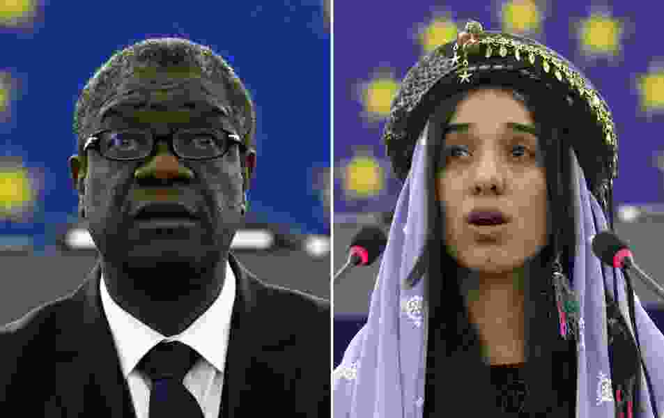 Nobel Peace Prize awarded to two figures bringing attention to sexual assault in conflicts