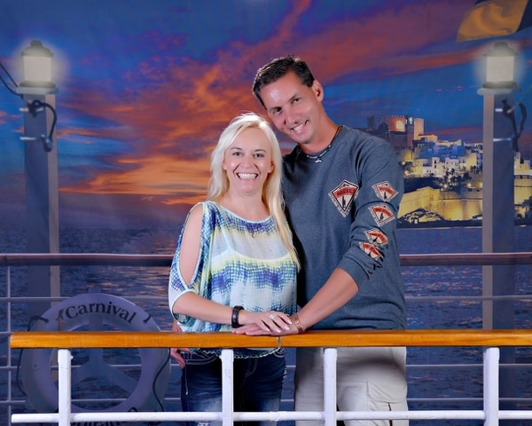 Art and Jerusha Jeffs pose for this photo aboard Carnival Cruise Line in 2016. They were members of the polygamous Fundamentalist Church of Jesus Christ of Latter-Day Saints until Art Jeffs was sent on a repentance mission in 2012. Jerusha Jeffs left the FLDS in 2014. Photo courtesy Art and Jerusha Jeffs.